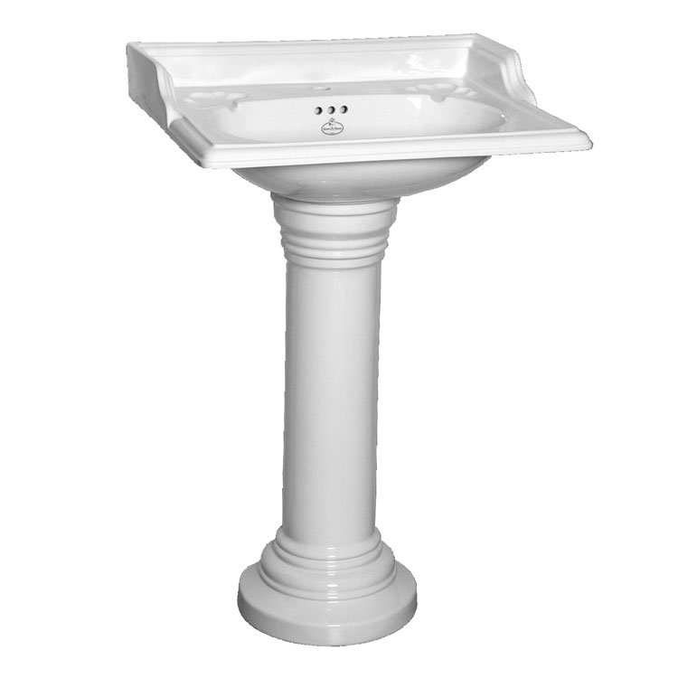 Oxford Basin With Plain Pedestal