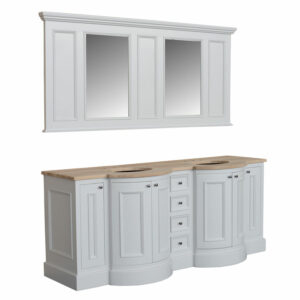 Holton Twin Vanity With Mirror