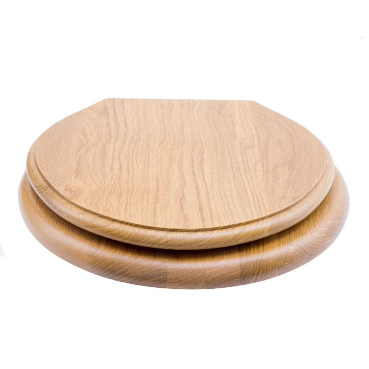 Oak Lavatory Seat
