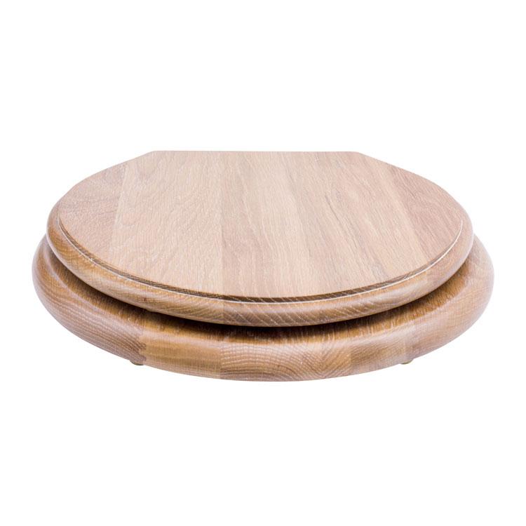 Limed Oak Lavatory Seat