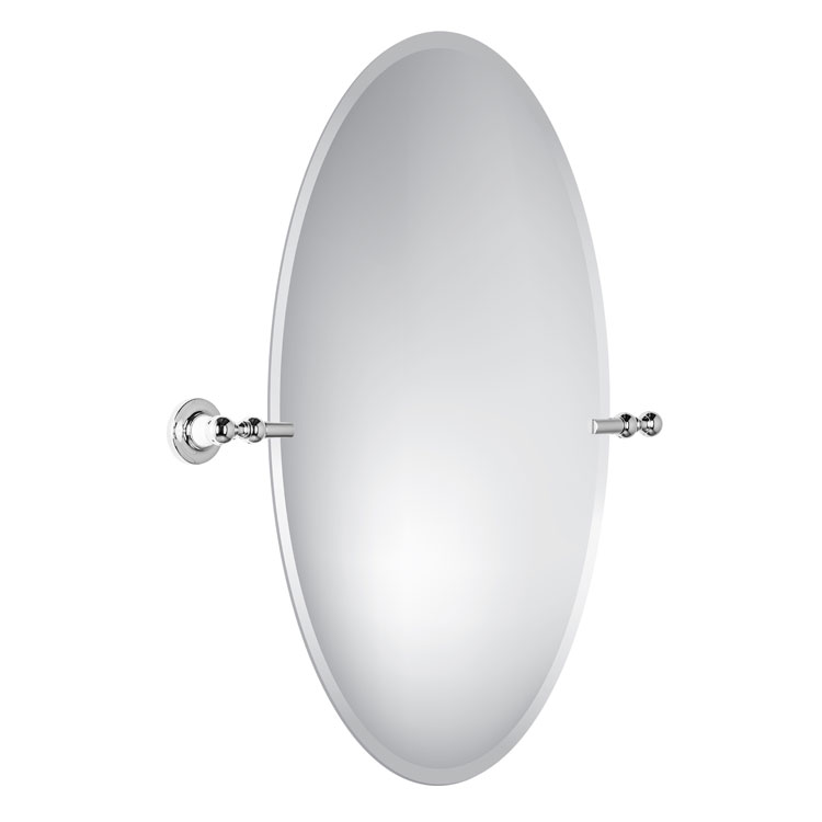 Oval Swivel Bathroom Mirror