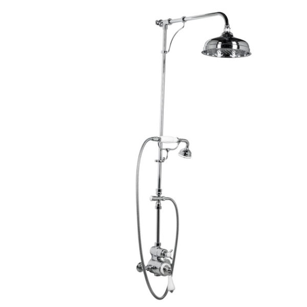 Thermostatic Shower With Handset On Craddle