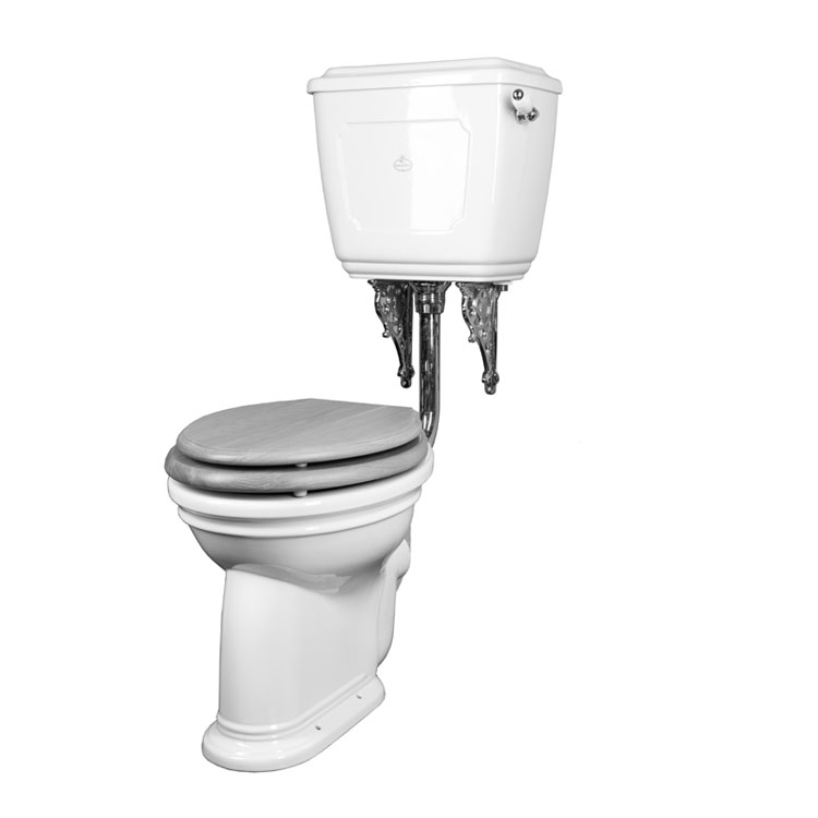 Oxford Low Level Toilet With Pull