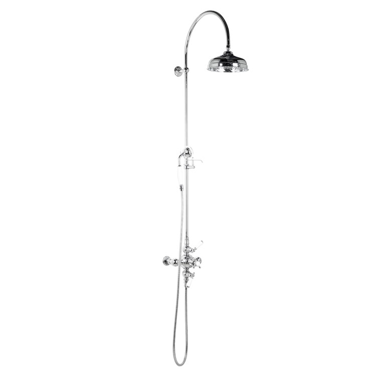 Thermostatic Shower Mixer With Handset